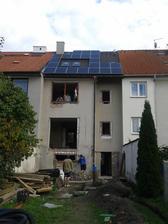 Nova střecha a první várka oken :-) - 13.9.