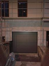 konečně máme i garážová vrata