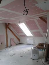 na podkrovní místnost se moooc těším :-)