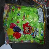 zelené balónky,