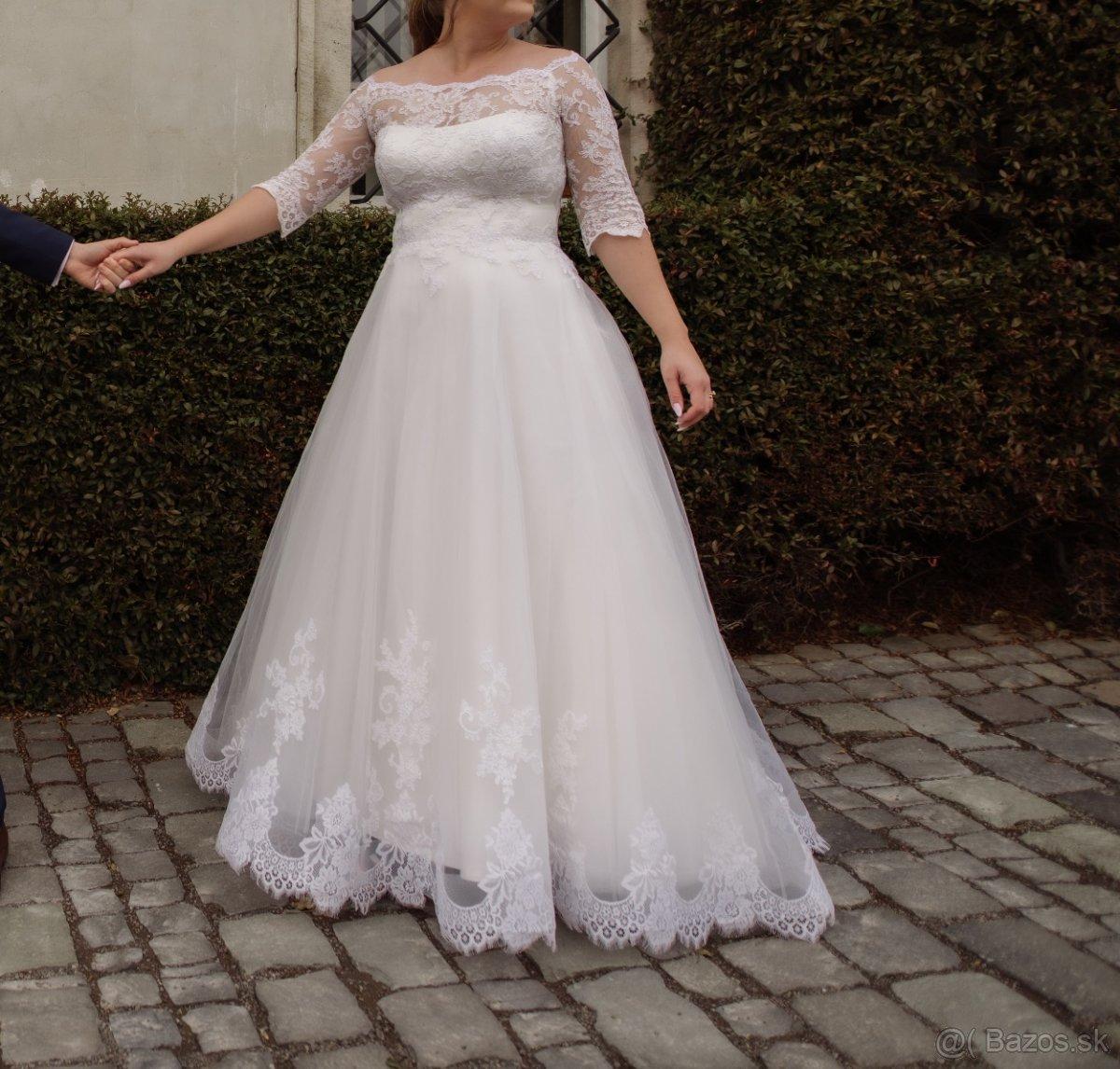 Svadobné šaty veľ. 42-46 - Obrázok č. 4