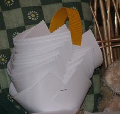 domácí výroba košíčků, máme to v garsonce jak v maufaktuře