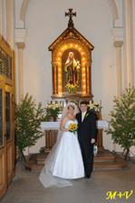U oltáře Panny Marie