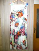 Bílé šaty s květinami, 42