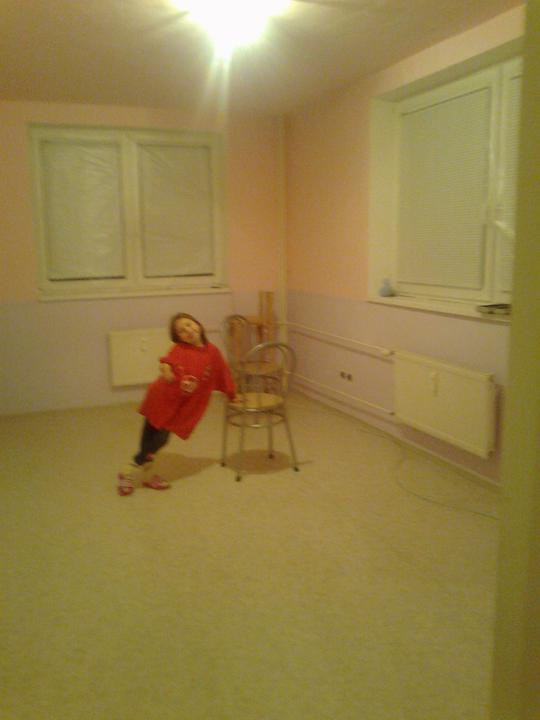 Decká izba prerabka - ide sa malovat