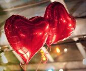 balon srdce 1 metr,