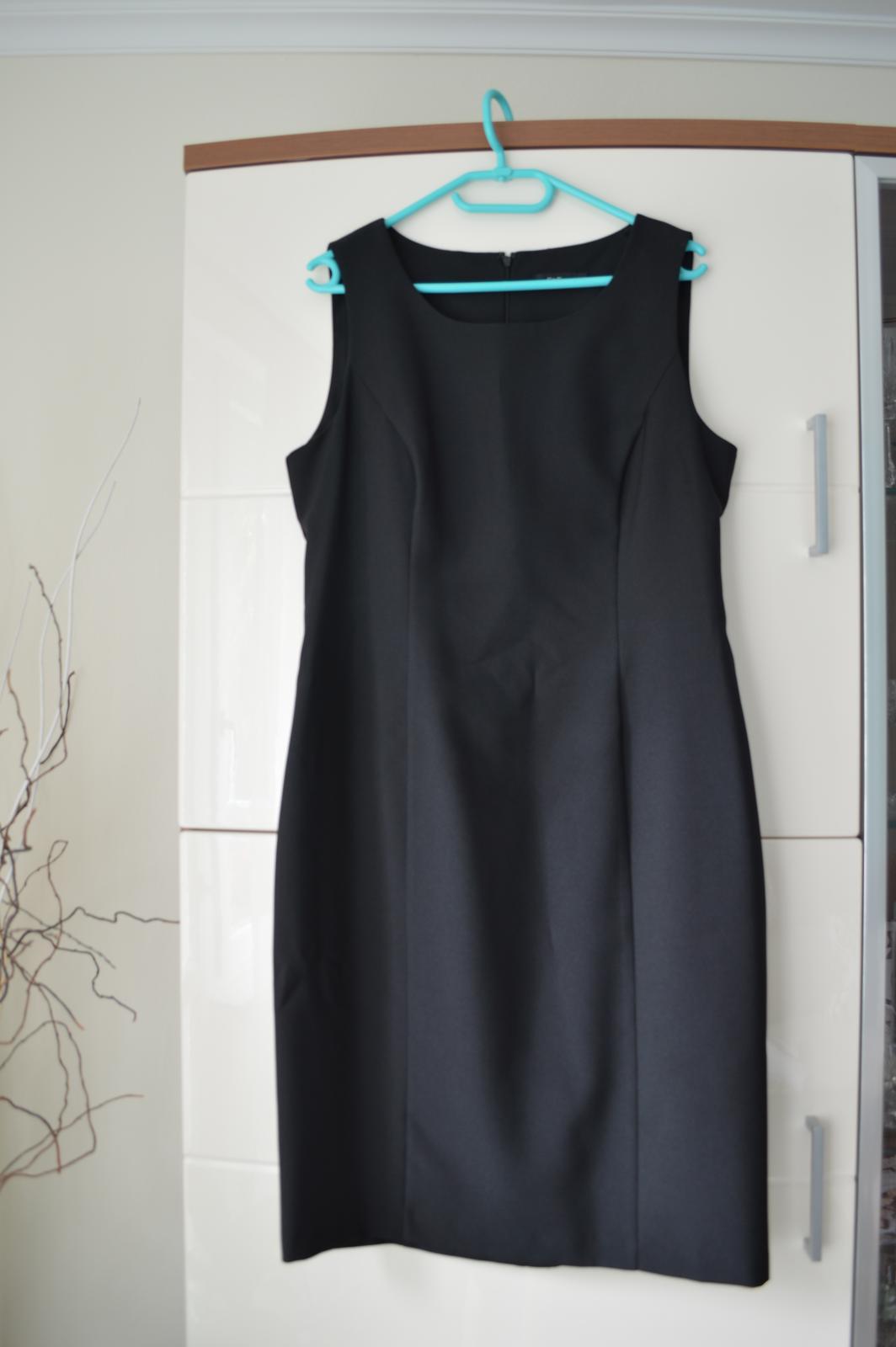 "Čierne ""classic"" šaty F&F - Obrázok č. 2"