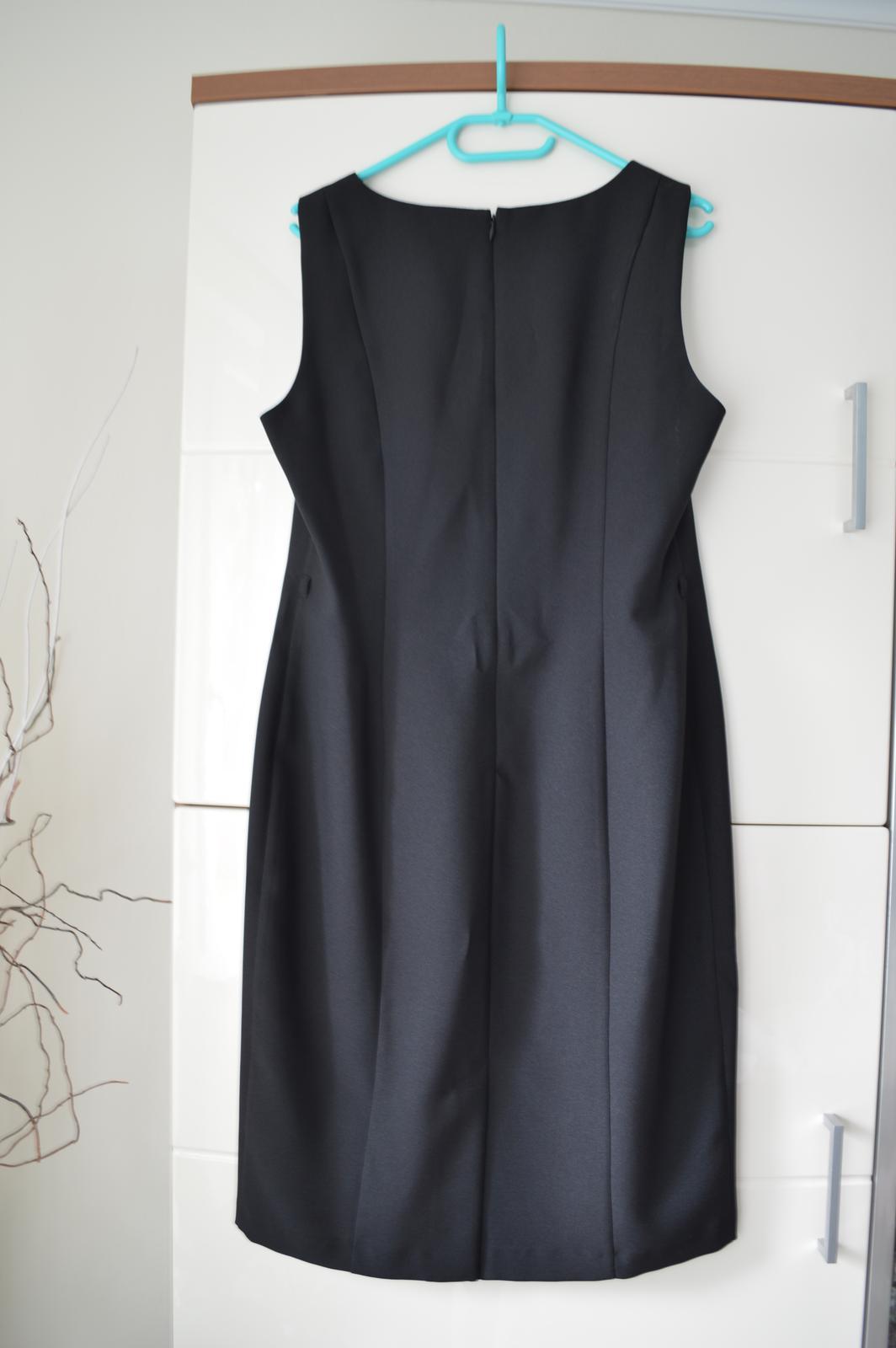"Čierne ""classic"" šaty F&F - Obrázok č. 3"