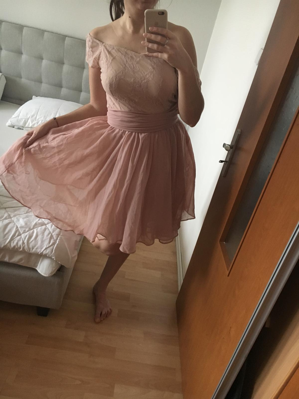 Staroružové šaty (nielen) pre družičky M/L - Obrázok č. 1
