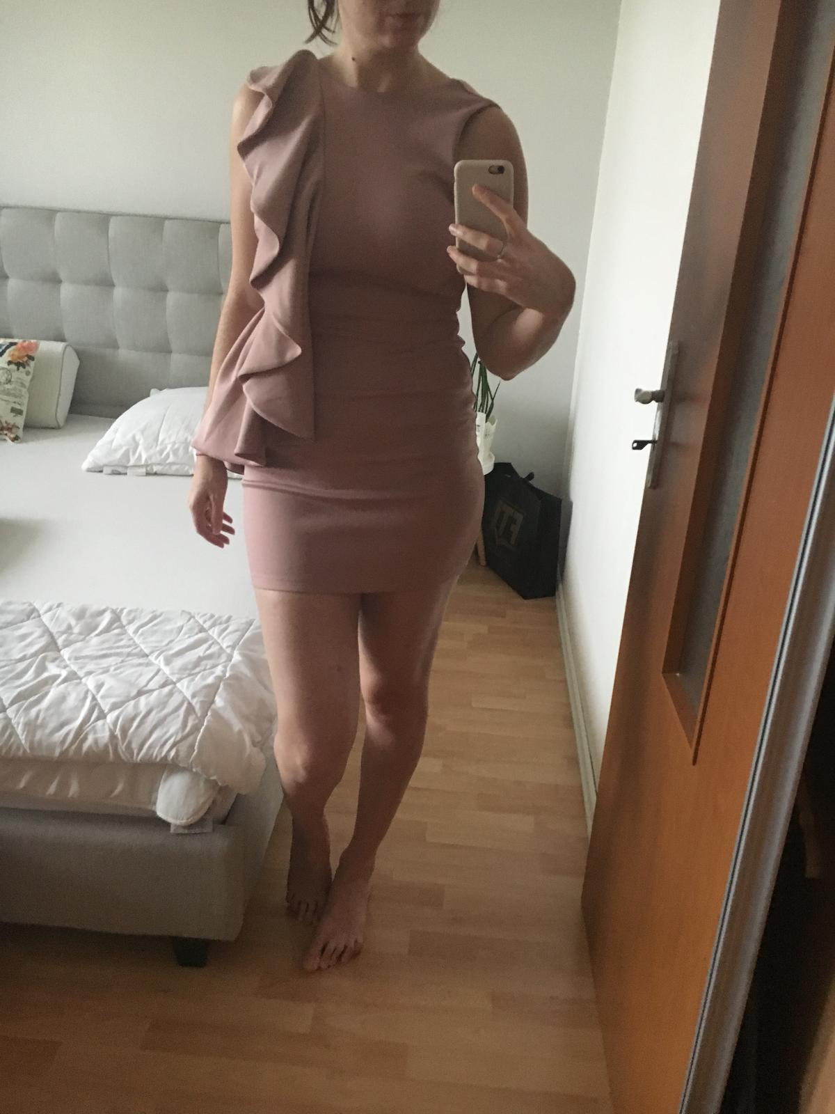 Asos krátke pastelové šaty, 40 - Obrázok č. 3