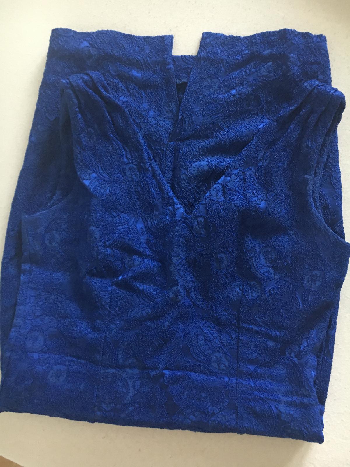 Modré elegantné šaty Mohito - Obrázok č. 4