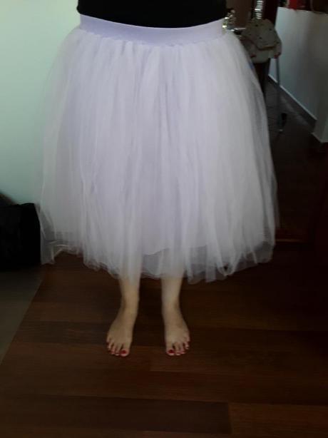 Světle fialová sukně - Obrázek č. 1