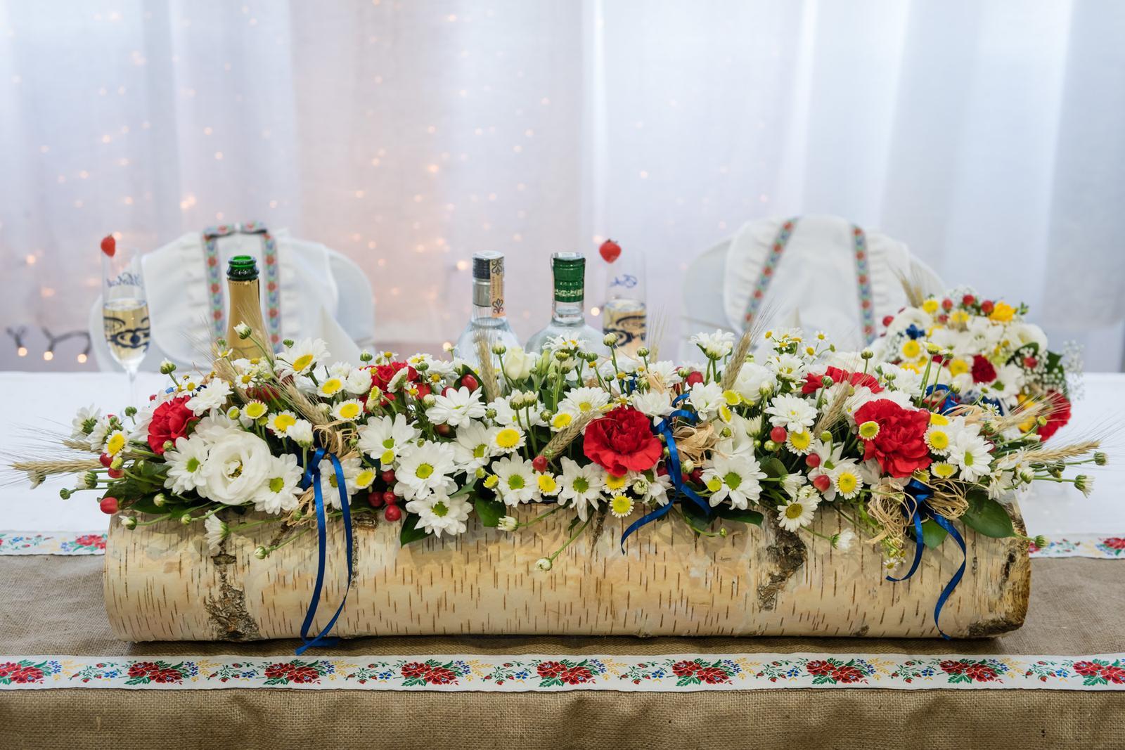 svadobný kvetinac a svietniky - Obrázok č. 2