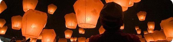 máme objednané létající lampiónky