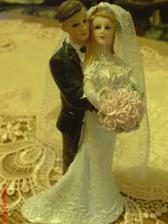naše figurky na svatební dort