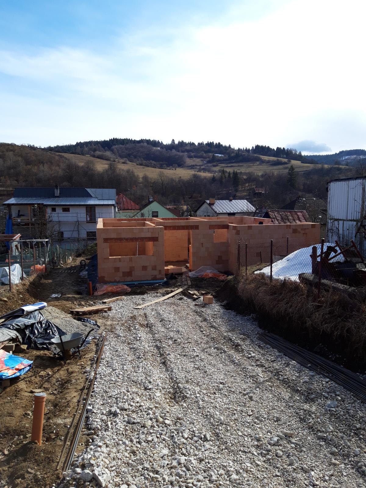 Realizácia hrubej stavby v pri Žiline - Domurované