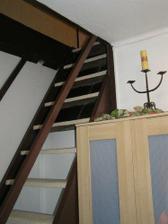 Schody do ložnice