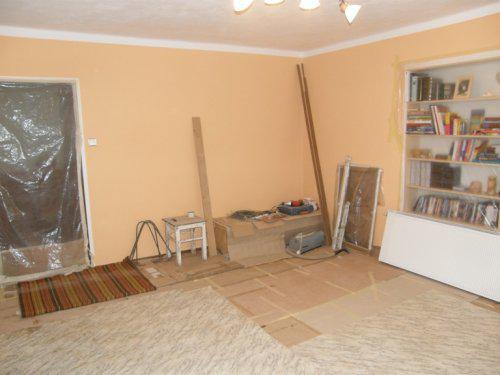 Naše bydleníčko - 15.9. takhle vypadá náš obývák
