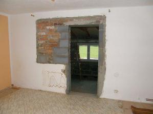 """Náš obývák a """"nové"""" dveře do ložnice"""