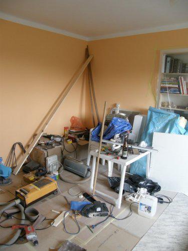 """Naše bydleníčko - 22.10. Náš """"pořádek"""" v obýváku ... hlavně že se v něm vyzná můj manža ;-)"""