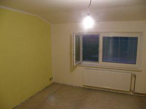 13.11. Vymalovaná ložnice :-)