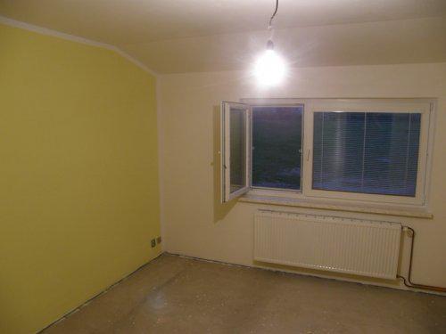 Naše bydleníčko - 13.11. Vymalovaná ložnice :-)