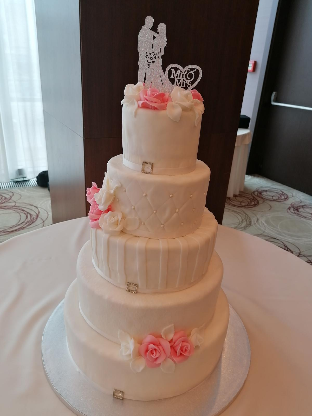 Svadobné torty - Obrázok č. 3