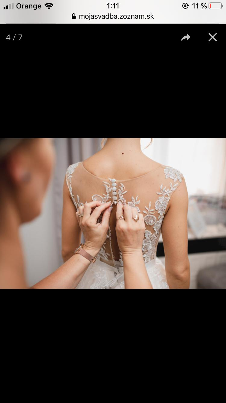 Svadobne šaty zn. Tina Valerdi - Obrázok č. 1
