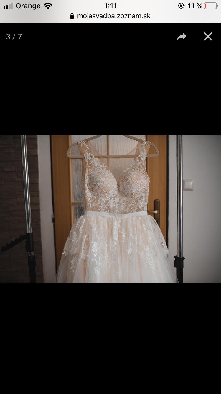 Svadobne šaty zn. Tina Valerdi - Obrázok č. 2