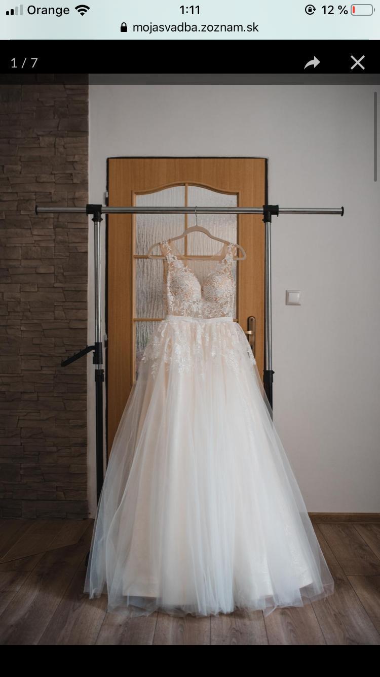 Svadobne šaty zn. Tina Valerdi - Obrázok č. 3