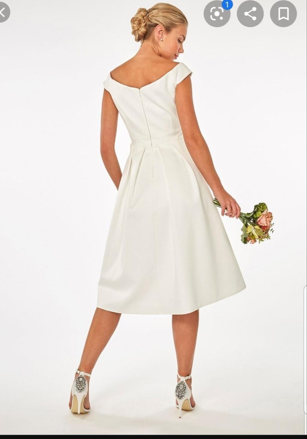 Nepoužité svadobné/popolnočné/spoločenské šaty - Obrázok č. 3
