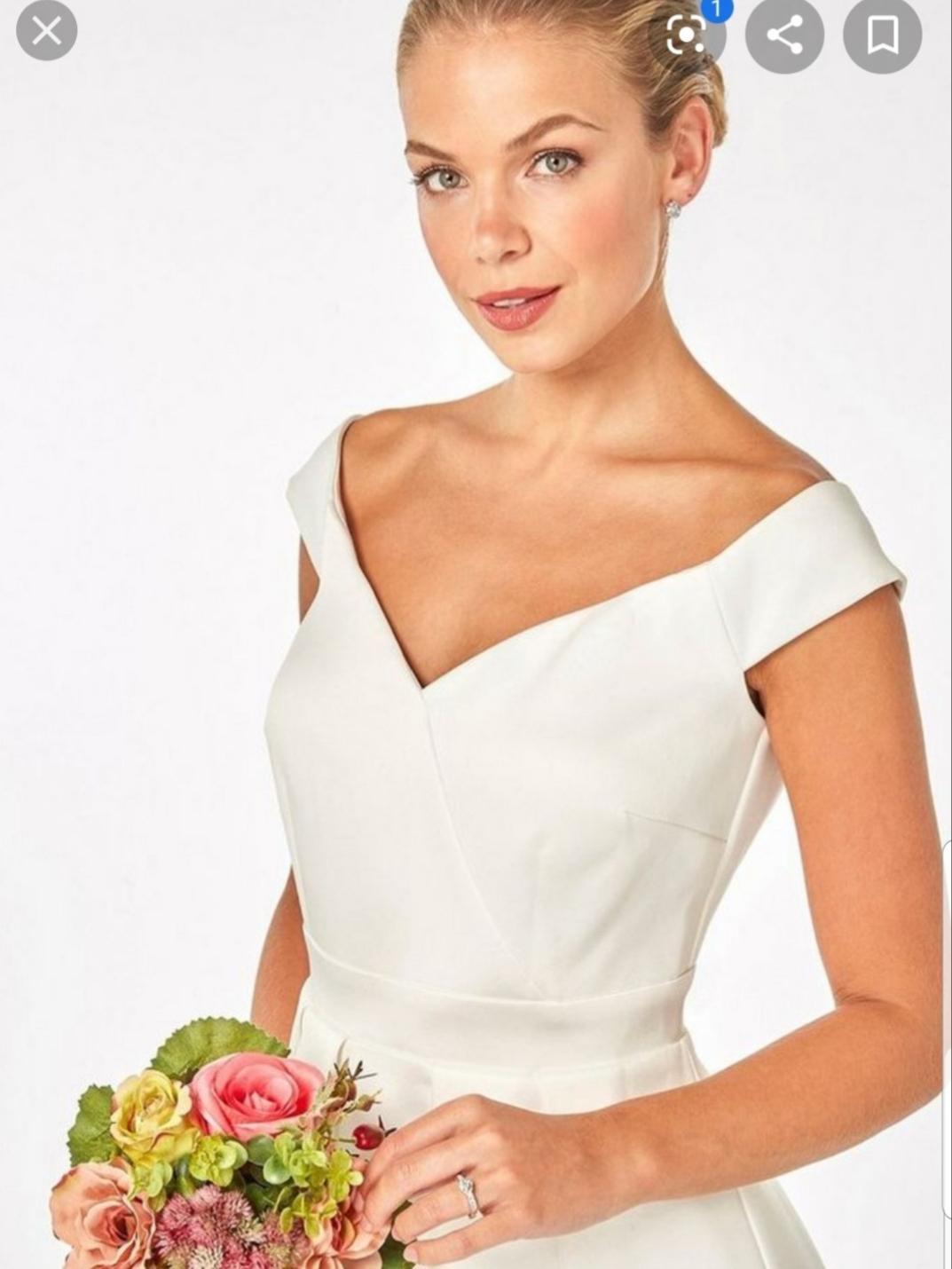 Nepoužité svadobné/popolnočné/spoločenské šaty - Obrázok č. 4