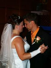 náš mladomanželský tanec