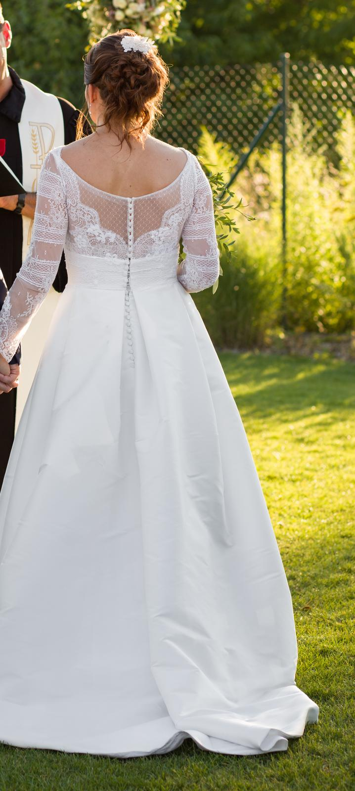Svatební šaty Jesus Piero - Obrázek č. 4