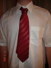 kravata s košilí pro miláčka...