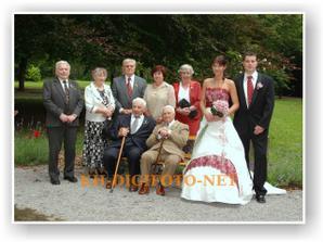 nejstarší svatebčané...:)