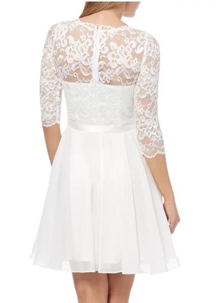Svatební / popůlnoční krátké šaty - Obrázek č. 2
