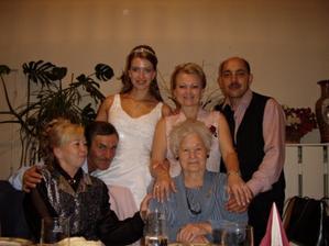 moji rodičia teta a ujo a moja jediná babička na svadbe to vydržala do tretej rána.