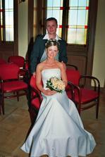 ... první novomanželské foto