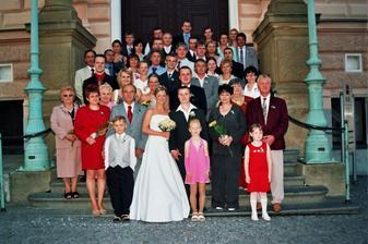 ... my a naši svatební hosté
