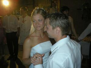 ... první novomanželský tanec