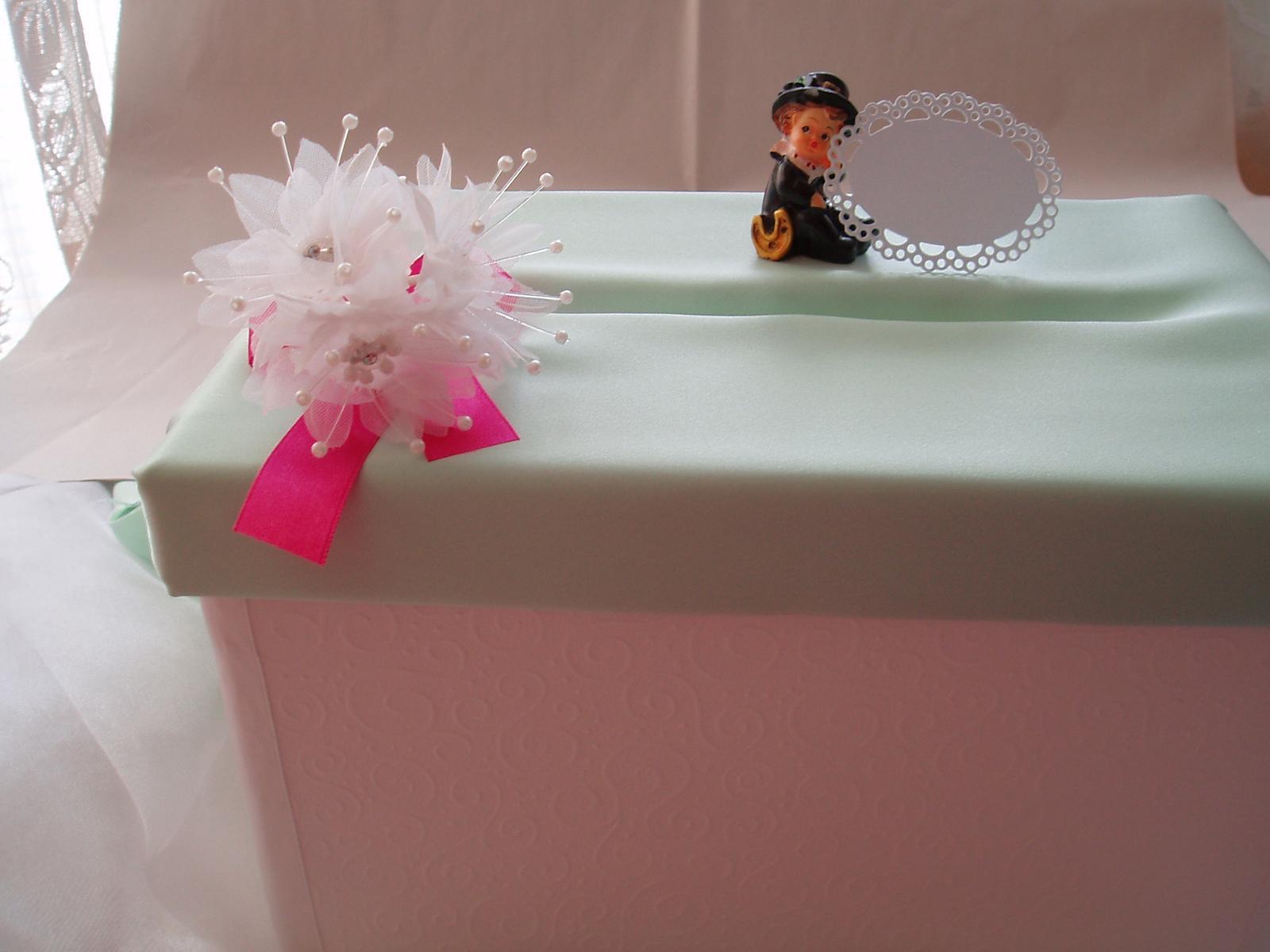 Krabička na peníze,vzpomínky,přání - Obrázek č. 2