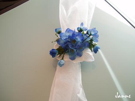 šerpa modro-bílá holoubci - Obrázek č. 3
