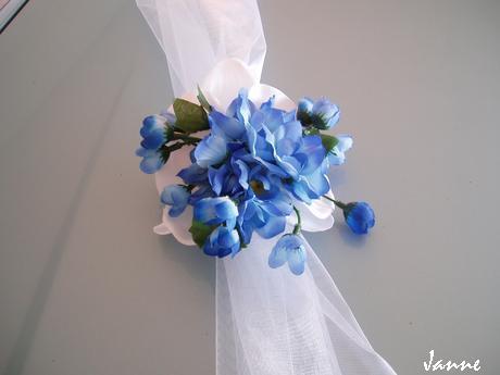 šerpa modro-bílá holoubci - Obrázek č. 4