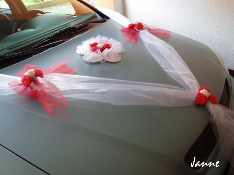 šerpa červená-kytička - Obrázek č. 1