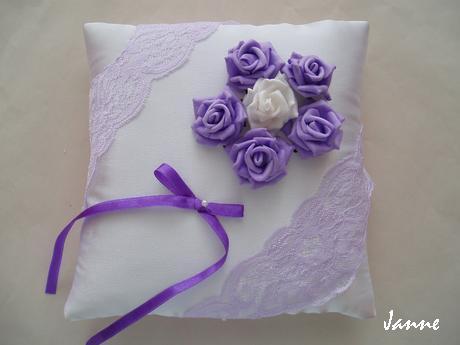 polštářek-růže - Obrázek č. 1