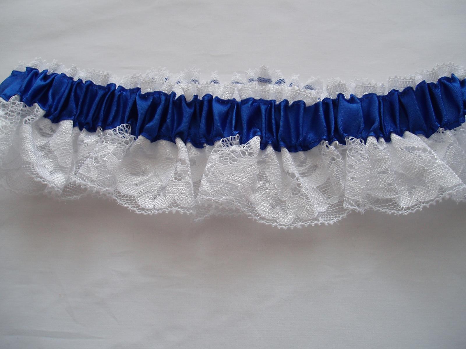 podvazek-modrý - Obrázek č. 1