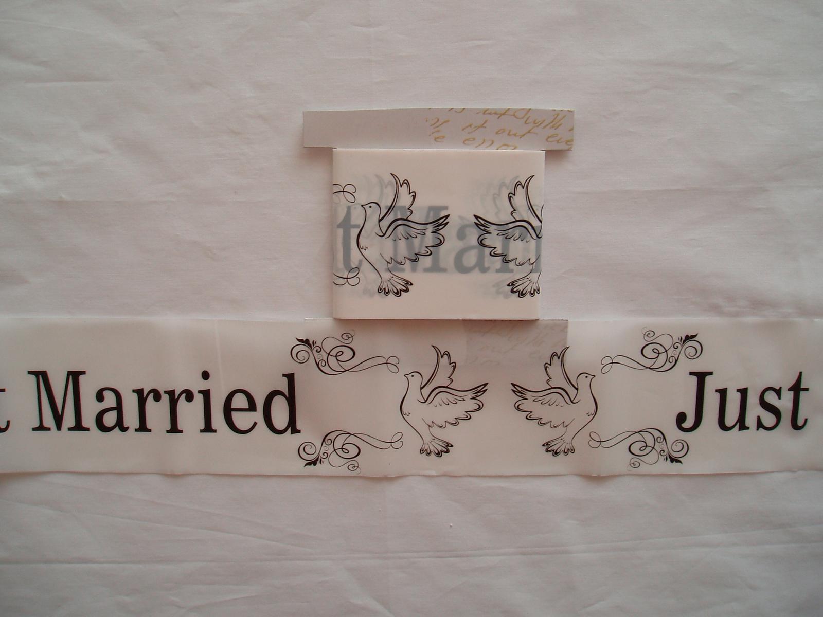 svatební páska - Obrázek č. 1