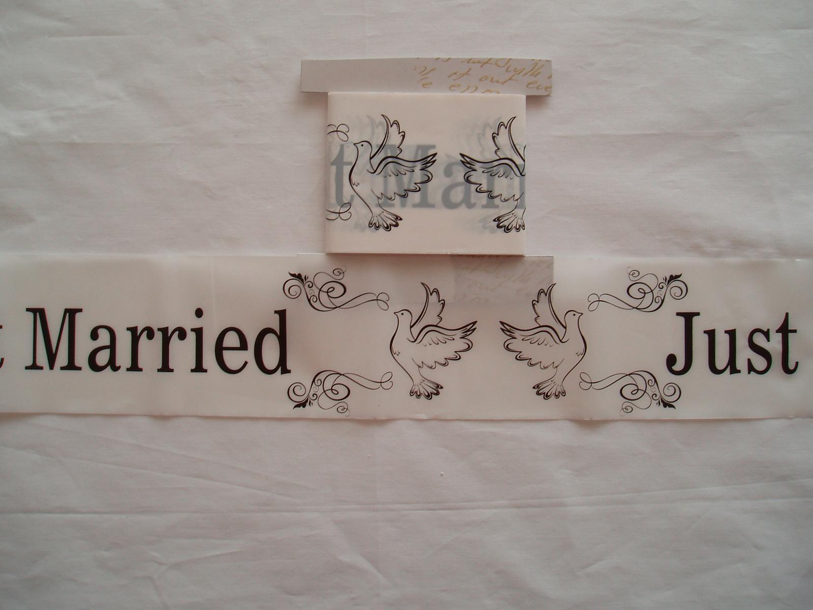svatební páska - Obrázek č. 3