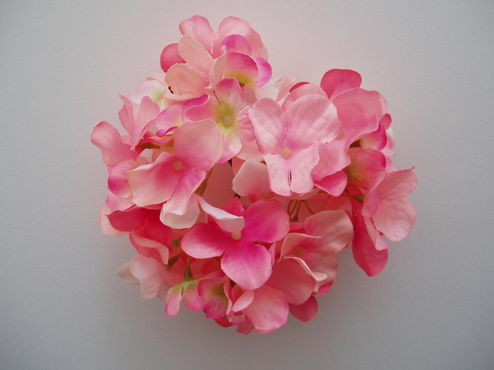 květ hortenzie-růžový - Obrázek č. 1